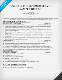 Objective Resume For Customer Service Insurance Agent Resume Examples 210 X 134 Insurance Agent Resume