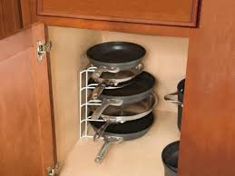dish organizer for cabinet cabinet pan rack gettabu com