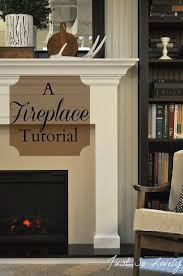 Wood Mantel Shelf Diy by Best 25 Building A Mantle Ideas On Pinterest Brick Fireplace