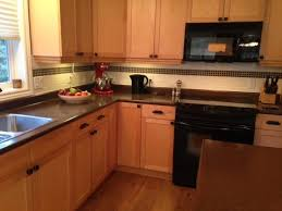 what color goes best with maple cabinets our painted maple cabinets 2 years later m interiors