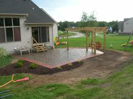 Concrete Patio Design Pictures Concrete Patio Ideas For Small Backyards Backyard Design And For