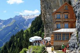 aescher hotel in switzerland the most spectacular hotel for