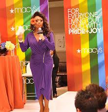 macy u0027s department store showcases drag queen
