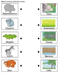 bunch ideas of animal habitat worksheets with additional letter