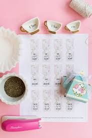 tea bag favors diy bridal shower tea bags with coffee filters