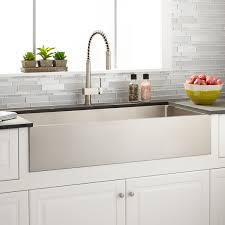 Stainless Steel Farm Sinks For Kitchens 39 Optimum Stainless Steel Farmhouse Sink Kitchen