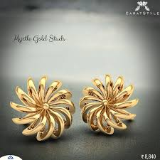 design of earrings gold 35 best indian calcutti jewellery images on gold