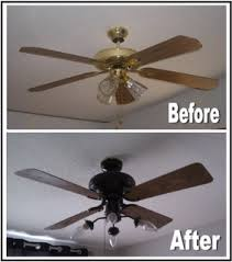 spray paint ceiling fan spray paint old ceiling fans for an instant makeover this makes a
