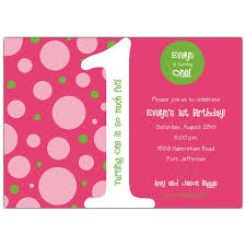 1st birthday bubbles pink and green invitations paperstyle