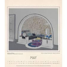 Decodesign by 9781419725210 Art Deco Design 2018 Wall Calendar Abrams Calendar