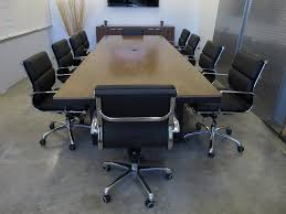 U Shaped Conference Table Conference Table Welded Powder Coated Oversized Steel Tubing With