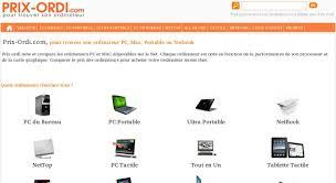 comparateur pc de bureau comparateur de prix ordi ordinateur portable