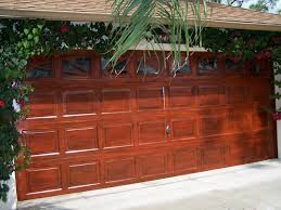 Faux Paint Garage Door - faux finishes