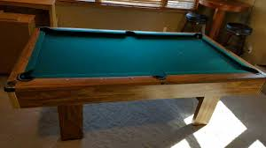 brunswick 7ft pool table used 7ft brunswick buckingham pool table in cottage grove