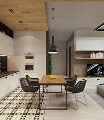 studio kitchen design designs by style frosted glass panels concrete finish studio