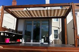 Awnings Usa Retractable Awning For Deck Schwep