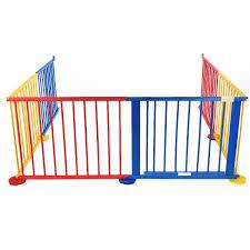 6 panel room divider baby playpen 6 panel colors wooden frame children playard foldable