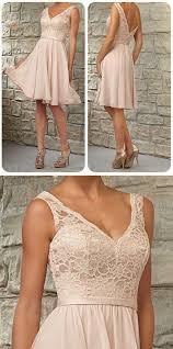 Knee Length Wedding Dresses Short Lace Top Off Shoulder V Neck Knee Length Blush Pink