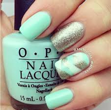 25 best mint nails images on pinterest mint nails make up and