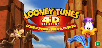 looney tunes 4d ft road runner u0026 wile coyote warner bros