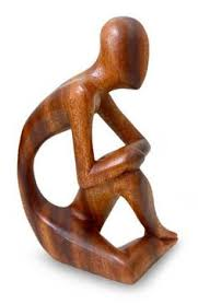 buy wooden sculptures wood sculpture abstract sitting wood sculpture henry