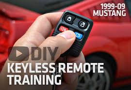 how to program ford mustang key how to program 99 09 mustang keyless entry remote key fob ford