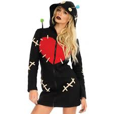 halloween costume womens cozy voodoo doll women halloween costume costumes for women