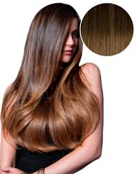 ombre hair extensions balayage 220g 22 ombre brown chestnut brown hair extensions
