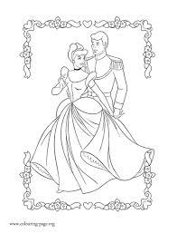cinderella cinderella prince charming coloring
