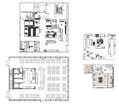 restaurant blocks and plans u2013 cad design free cad blocks