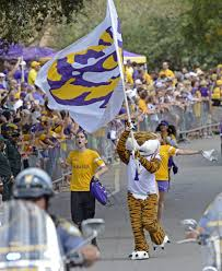 Lsu Garden Flag Photo Lsu Auburn Pre Game Festivities Photos Theadvocate Com