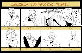 Emoticon Memes - emoticon expression meme by cjswinging on deviantart
