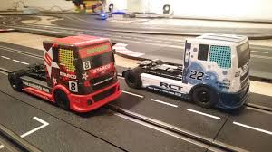 gulf racing truck all new scalextric truck digitized for carrera digital