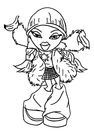 coloring pages of a heart 246 best colouring bratz monster high moxie girls ever after
