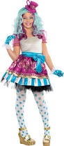 Party Halloween Costumes Kids Girls Girls Madeline Hatter Costume Supreme Party