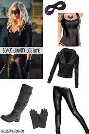Black Leather Halloween Costumes Cw Arrow Costume Ideas Dress Black Canary