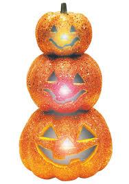light up pumpkins for halloween light up glitter stack orange pumpkins halloween costumes