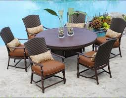 cool round patio furniture exquisite ideas outdoor table