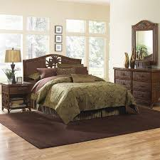 shop bedroom sets at lowes com hospitality rattan cancun palm queen bedroom set