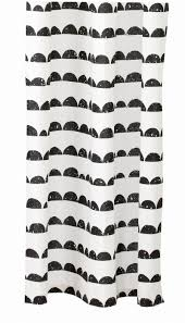 Checkered Shower Curtain Black And White by Half Moon Shower Curtain Design By Ferm Living U2013 Burke Decor