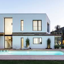 residential architecture design geometrically unique home combines modern architecture and