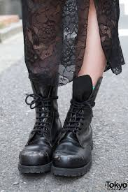 long motorcycle boots harajuku in big black boots u2013 tokyo fashion news