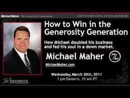 Michael Maher Michael J Maher How To Win In The Generosity Generation Youtube