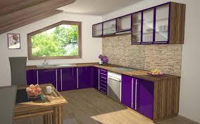kitchen modern purple kitchen furniture cabinet sets uncluttered