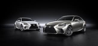2016 lexus is sedan gets lexus gives 2017 is sedan a modest facelift