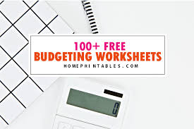 free budgets templates 100 free budget templates for financial success home printables