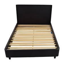 61 off crate u0026 barrel crate u0026 barrel lasalle queen bed frame beds