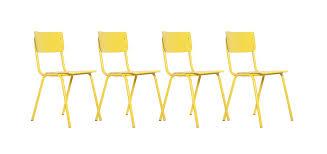 chaises jaunes chaise empilable jaune optez pour nos chaises empilables jaunes