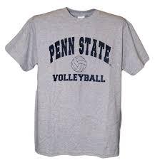 penn state t shirt gray volleyball t shirt