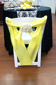 yellow chair sashes 23 best chair sash images on chair covers chair